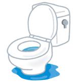 トイレの紙詰まり