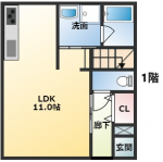 1階(間取)