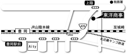 東洋商事の周辺マップ